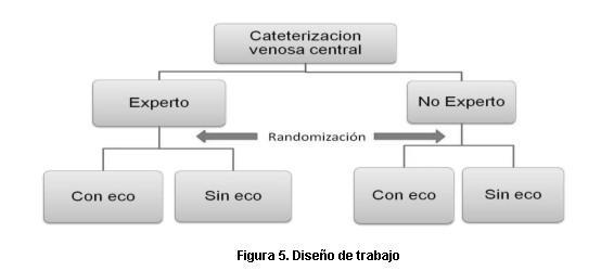 Cateterización venosa central guiada por ecografía: estudio ...
